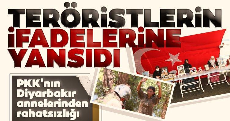 PKK'nın Diyarbakır annelerinden rahatsızlığı teröristlerin ifadelerine yansıdı