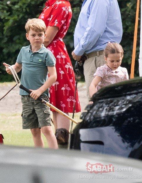 Kate Middleton ve Meghan Markle ilk defa çocuklarıyla bir arada! Meghan Markle'a eleştiri yağmuru!