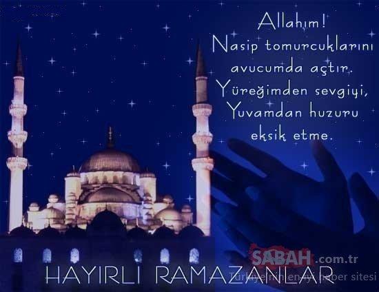 Ramazan mesajları ve sözleri: En güzel ve 2020 yılına özel Resimli, resimsiz, ayetli ve dualı Ramazan mesajları ve sözleri burada!
