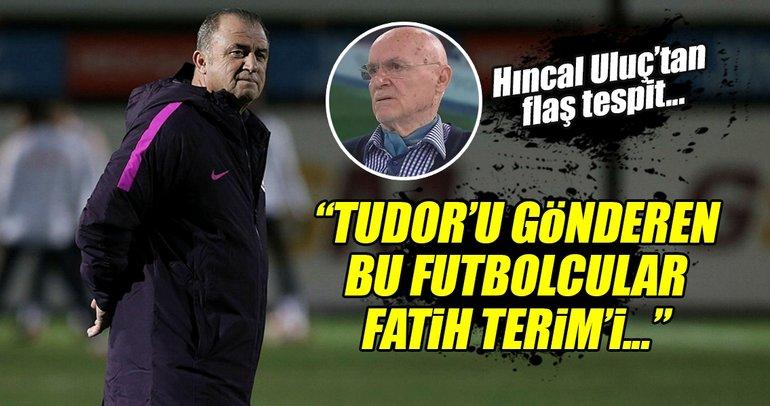 Hıncal Uluç, Galatasaray gündemini değerlendirdi! Fatih Terim...