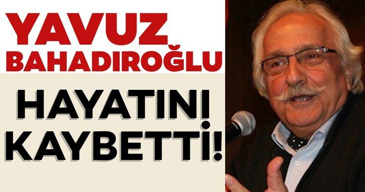 Son dakika haber: Ünlü tarihçi yazar Yavuz Bahadıroğlu hayatını kaybetti! Acı haberi oğlu verdi