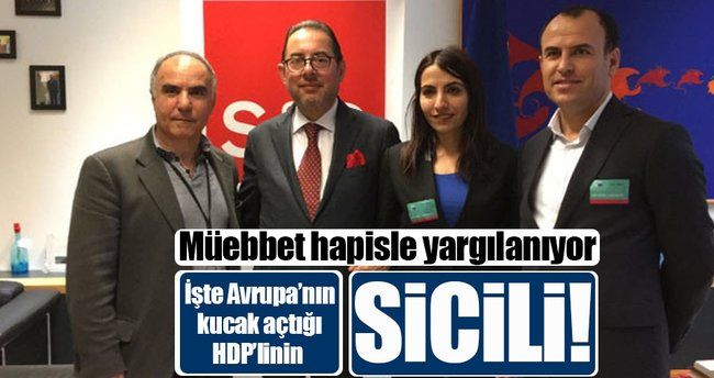 HDP'li 'kaçak' vekile müebbet istemi