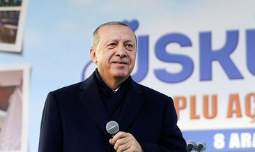 Erdoğan, kadın voleybolcuları kutladı