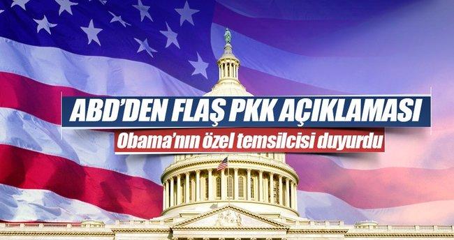ABD'den flaş PKK açıklaması