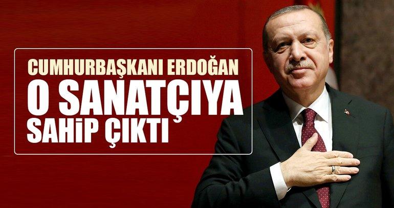 Cumhurbaşkanı Erdoğan, kanser tedavisi gören Nuray Hafiftaş'a sahip çıktı