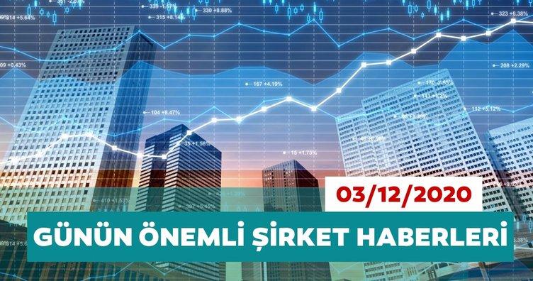 Borsa İstanbul'da günün öne çıkan şirket haberleri ve tavsiyeleri 03/12/2020