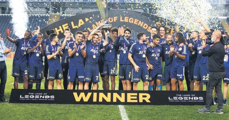 Fenerbahçe kupayla başlıyor