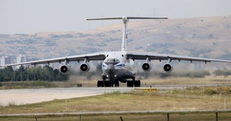 S-400 sevkiyatı sürüyor: Yeni uçak Mürted'de