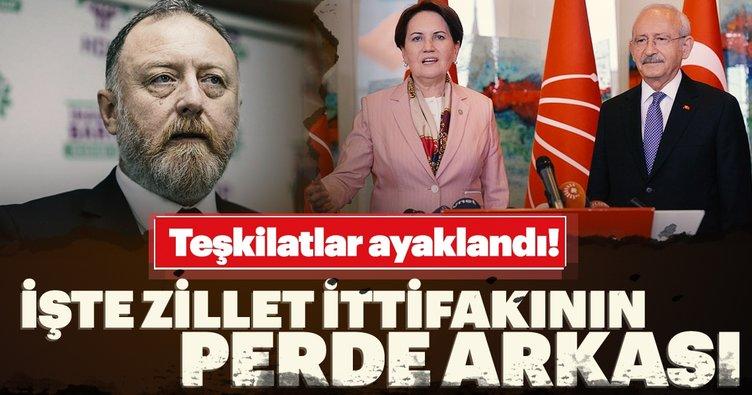 CHP, HDP, İP ve Saadet Partisi ittifakında rezalet!