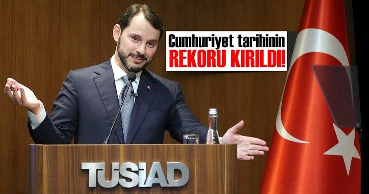Enerji ve Tabii Kaynaklar Bakanı Berat Albayrak TÜSİAD'ı ziyaret etti
