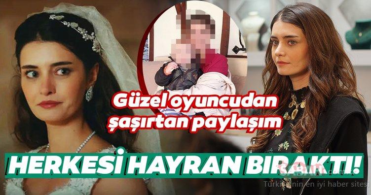 Sefirin Kızı oyuncuları Tülin Yazkan ile Engin Akyürek'in aşk yaşadığı iddia edilmişti... Sefirin Kızı'nın Menekşe'si Tülin Yazkan'ı bir de böyle görün...