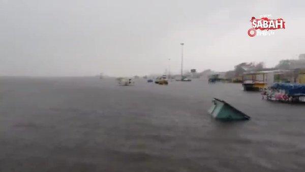 Nivar Kasırgası Hindistan'ı vurdu: 5 ölü | Video