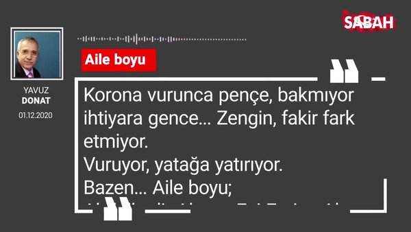 Yavuz Donat 'Aile boyu'