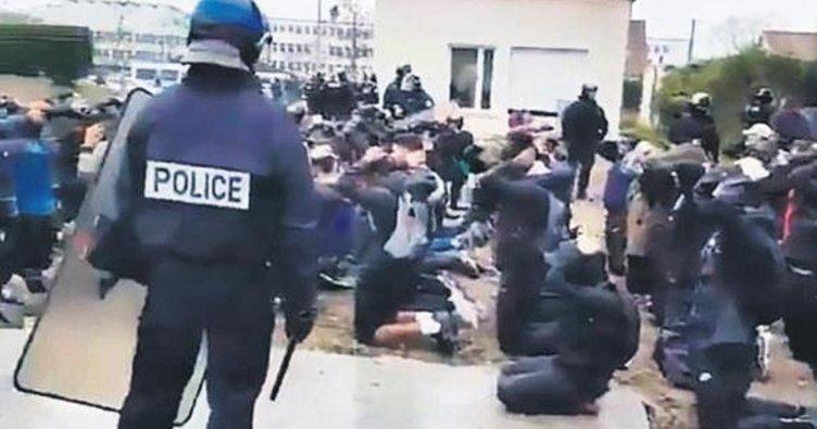 Toplama kampı değil Fransa'da bir lise