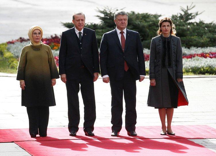 Cumhurbaşkanı Erdoğan Ukrayna'da