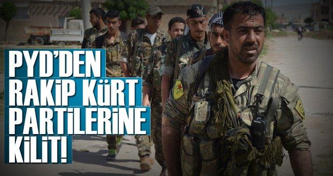 PYD'den rakip Kürt partilerine kilit