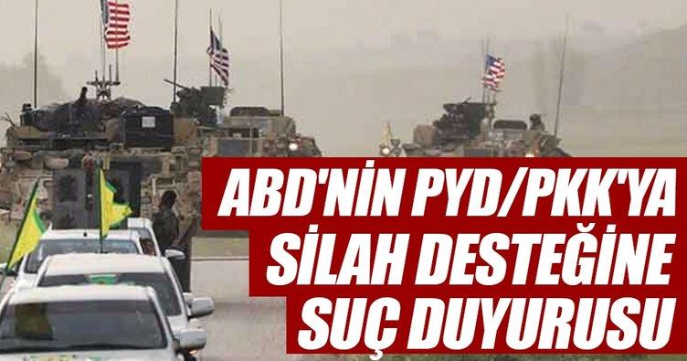 ABD'nin PYD/PKK'ya silah desteğine suç duyurusu