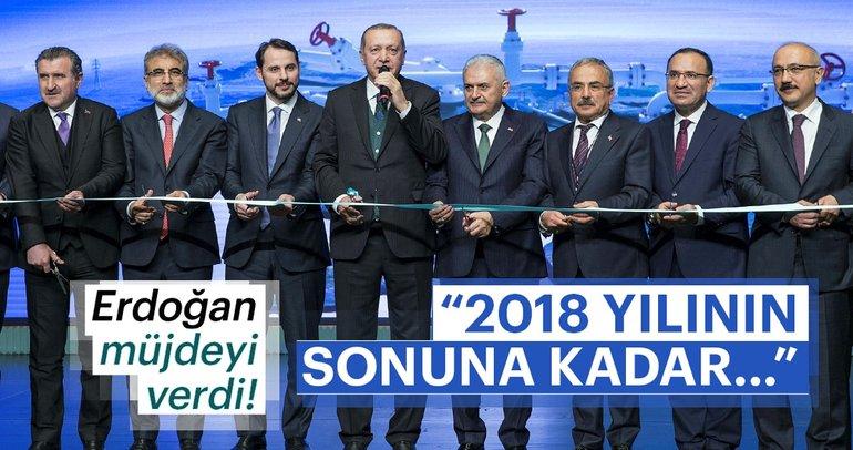 Son Dakika: Cumhurbaşkanı Erdoğan: 2018 yılının sonuna kadar...