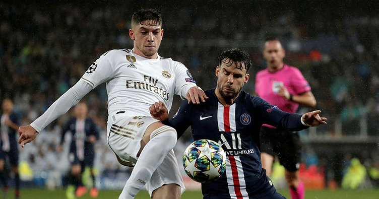 Image result for real madrid vs psg 2-2""