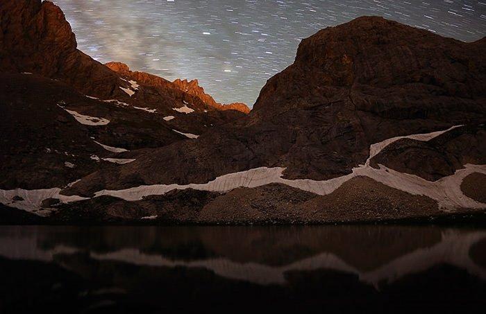 Çiniligöl ve Kara Göl'de yıldız şöleni