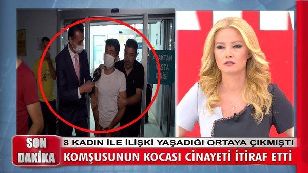 Müge Anlı'ya karısıyla cinsel ilişkiye giren Süleyman Akbaba'yı satırla 8 parçaya ayıran kocadan kan donduran itiraflar   Video