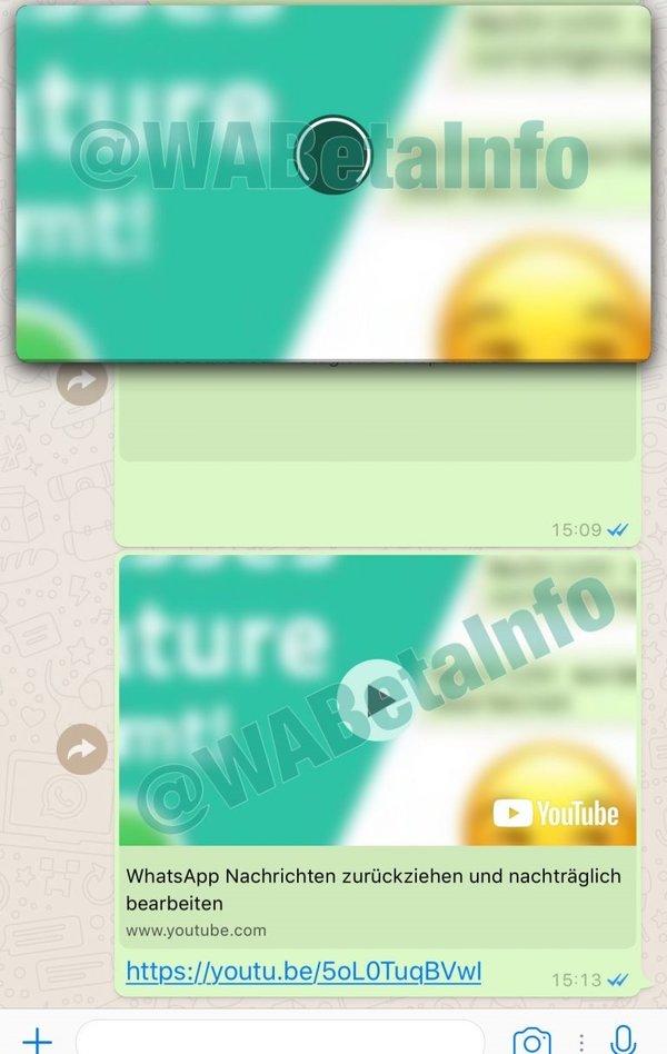 WhatsApp'ta artık YouTube videolarını izleyebilirsiniz