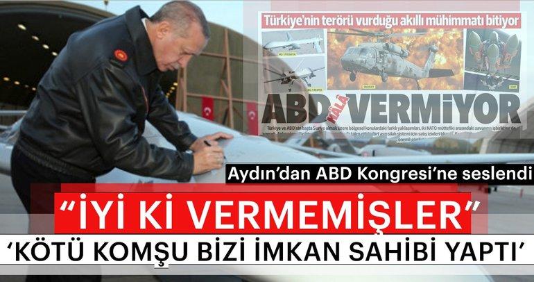 Cumhurbaşkanı Erdoğan: Kötü komşu bizi imkan sahibi yaptı