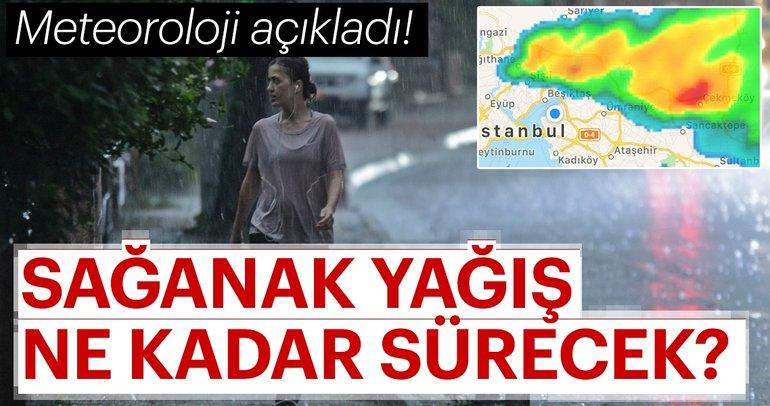 Meteoroloji'den İstanbul için şiddetli sağanak yağış uyarısı! - İstanbul hava durumu nasıl olacak?