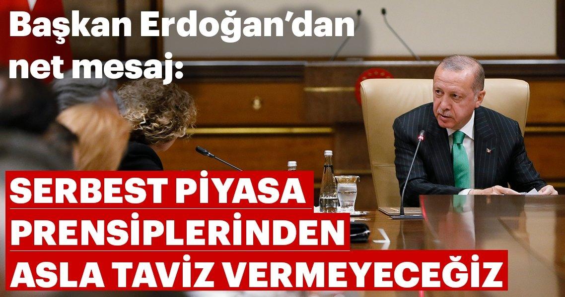 Son dakika: Başkan Erdoğan ABD'li şirket temsilcilerini kabul etti