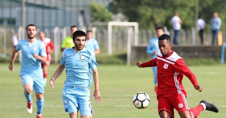 Sivasspor Azerbaycan takımını yendi