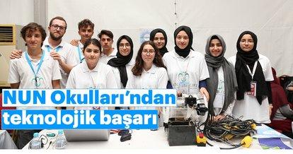 NUN Okulları'ndan teknolojik başarı