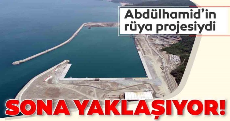 Sultan Abdülhamid'in rüya projesi Zonguldak'ta tamamlanıyor!