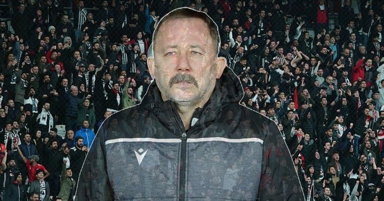 Beşiktaş taraftarından Sergen Yalçın tezahüratı!