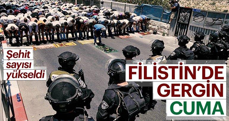 Gazze'de gergin cuma!