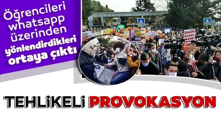 Boğaziçi Üniversitesi'nde tehlikeli provokasyon
