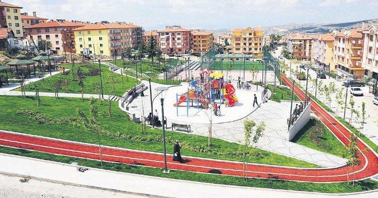 10 yılda 169 park