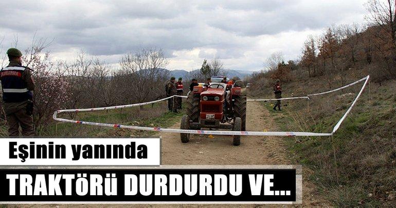 Burdur'da bir çiftçi, eşinin yanında intihara kalkıştı