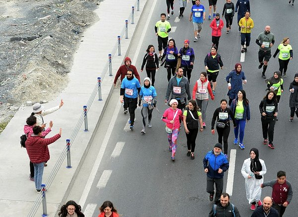 Vodafone 13. İstanbul Yarı Maratonu'ndan rekor çıktı!