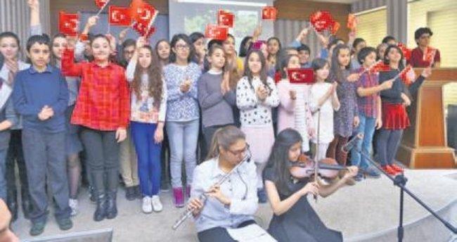 Bakü'den Londra'ya 29 Ekim kutlamaları