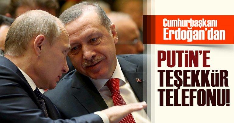 Son dakika: Cumhurbaşkanı Erdoğan ile Putin görüştü