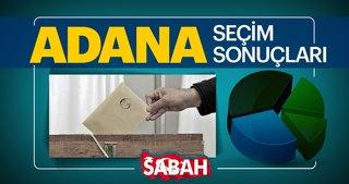 Adana seçim sonuçları belli oluyor! 31 Mart 2019 Adana Büyükşehir Belediye Başkanlığı yerel seçim sonucu ve oy oranları