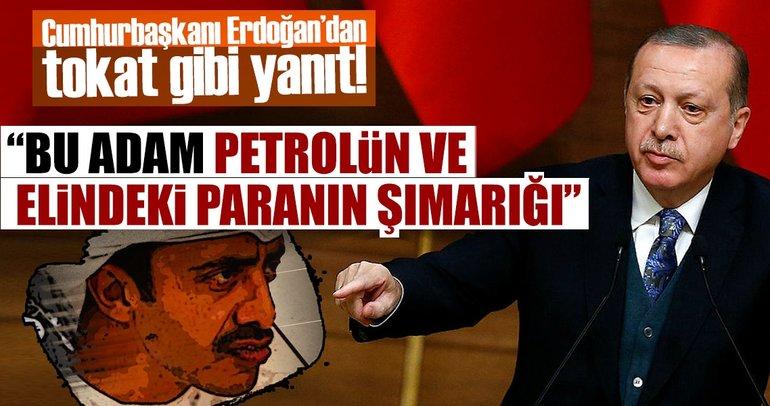 Cumhurbaşkanı Erdoğan'dan BAE'li bakan tokat gibi bir yanıt daha!