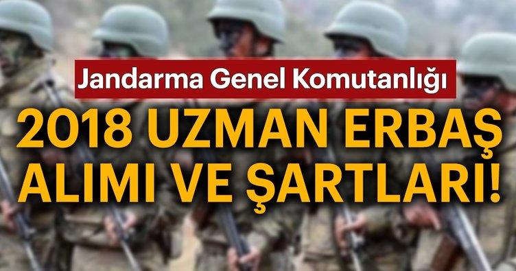 Jandarma uzman erbaş alımı başvuruları başladı! 2018 Jandarma uzman erbaş başvuru şartları