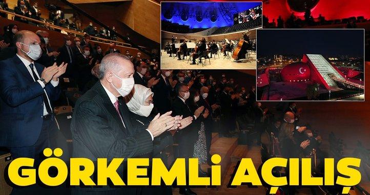 Cumhurbaşkanlığı Senfoni Orkestrası'nın yeni binasına görkemli açılış!