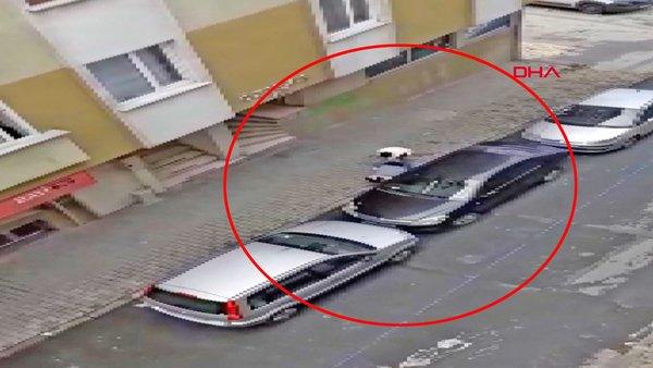 İstanbul Bağcılar'da hamile kadına kocasından tekme tokat dayak! Kadına şiddet dehşeti kamerada...