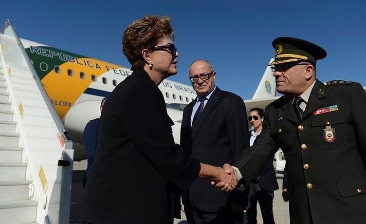 Brezilya Cumhurbaşkanı Rousseff, Antalya'ya geldi