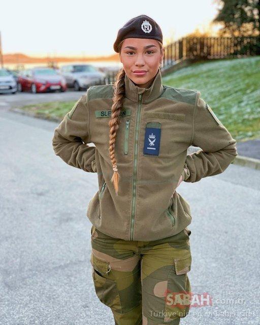 Kadın askerler olay oldu! Sosyal medyada paylaştılar