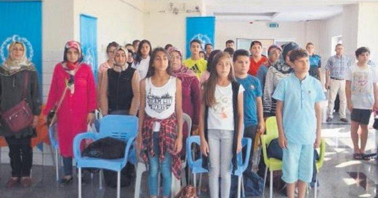Kayseri'de 'Genç Bakışlar Mutlu Yüzler Projesi