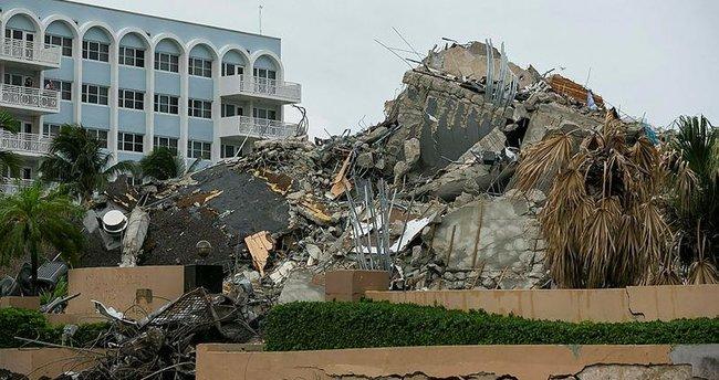 Miami'de çöken 13 katlı binada ölenlerin sayısı 36'ya çıktı