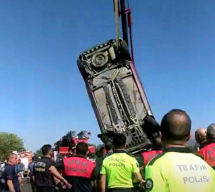 Sulama kanalına uçan otomobilin kadın sürücüsü hayatını kaybetti